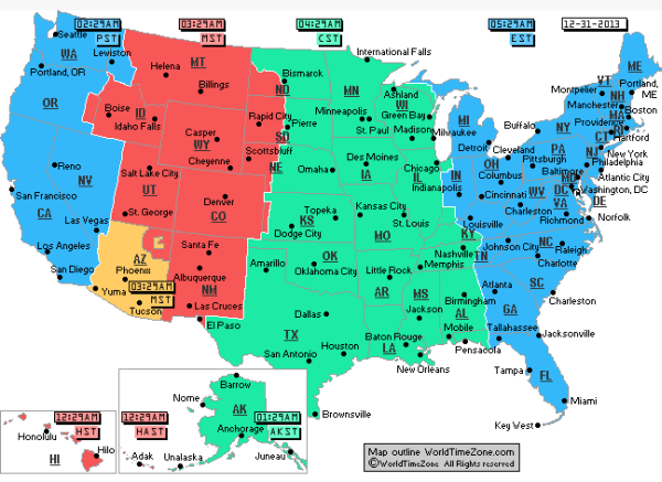 Us Time Zone Map Large - CYNDIIMENNA Time Zones Maps Usa on